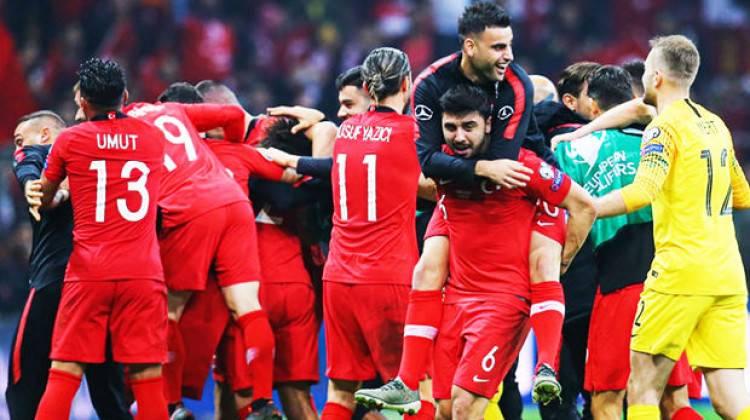 UEFA'dan Milli Takım'a büyük ödül