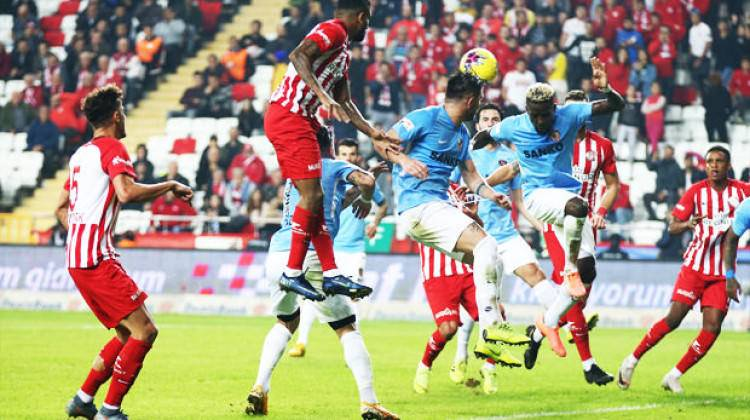 Süper Lig'de kapanış maçında beraberlik!