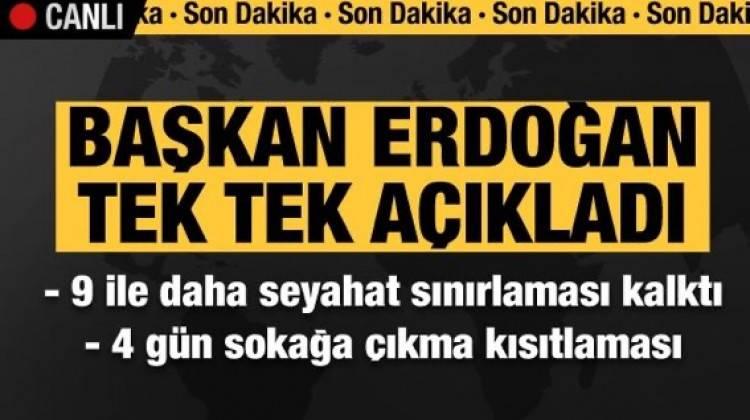 Başkan Erdoğan Açıkçadı! 4 Gün Sokağa Çıkma Kısıtlaması Geliyor