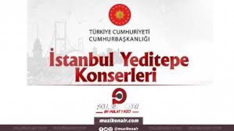 'İstanbul Yeditepe Konserleri' kapsamında Gökhan Tepe ve Murat Dalkılıç izleyiciyle buluştu