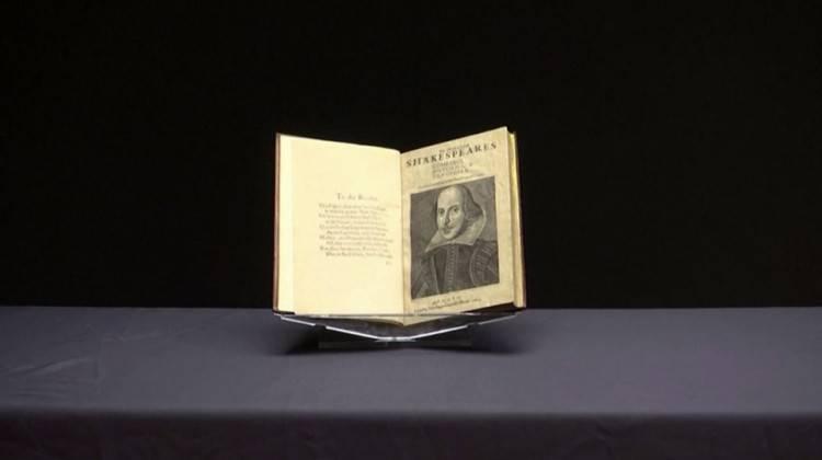William Shakespeare'in kitabına 10 milyon dolar
