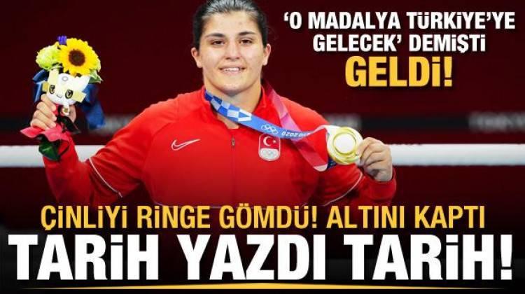 Busenaz Sürmeneli olimpiyat şampiyonu!