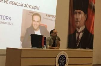 Umut Öztürk Namık Kemal Üniversitesi Öğrencileriyle Buluştu