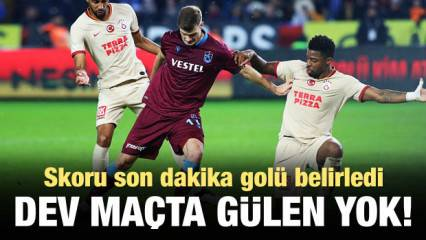 Trabzonspor - Galatasaray: 1-1