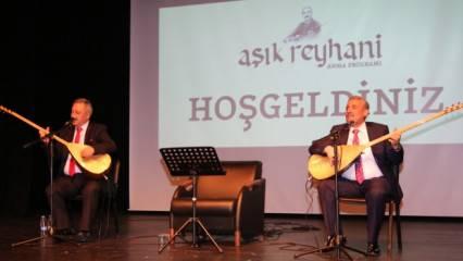 Erzurum Belediyesi, Aşık Reyhani'yi unutmadı