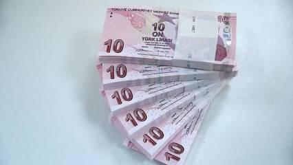 Emeklinin zamlı maaşı yarın hesapta