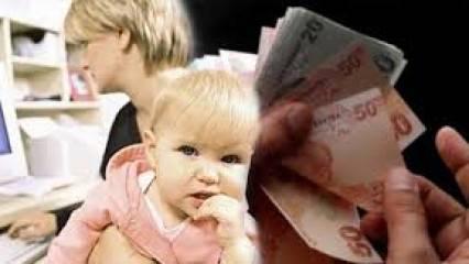 İşsiz annelere 2420 TL maaş