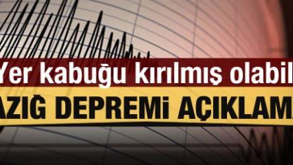 Deprem uzmanlarından Elazığ depremi açıklaması